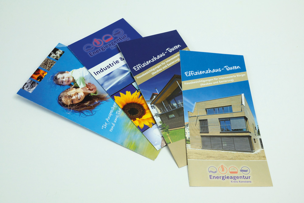 Energieagentur Konstanz: Diverse Flyer/Folder