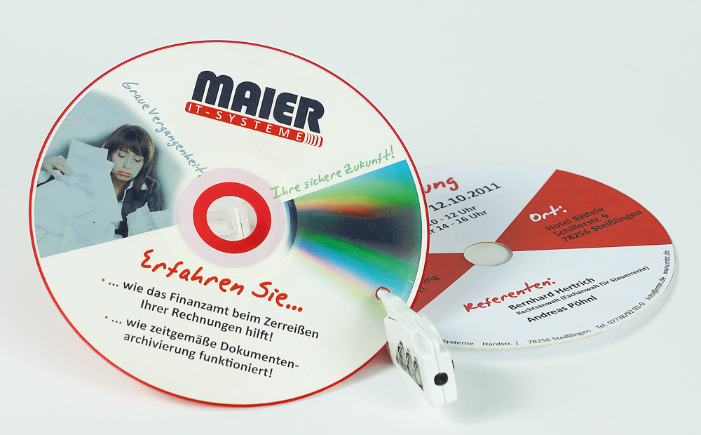 Maier IT-Systeme Einladung