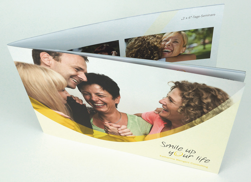 Smile up your life: Imagebroschüre