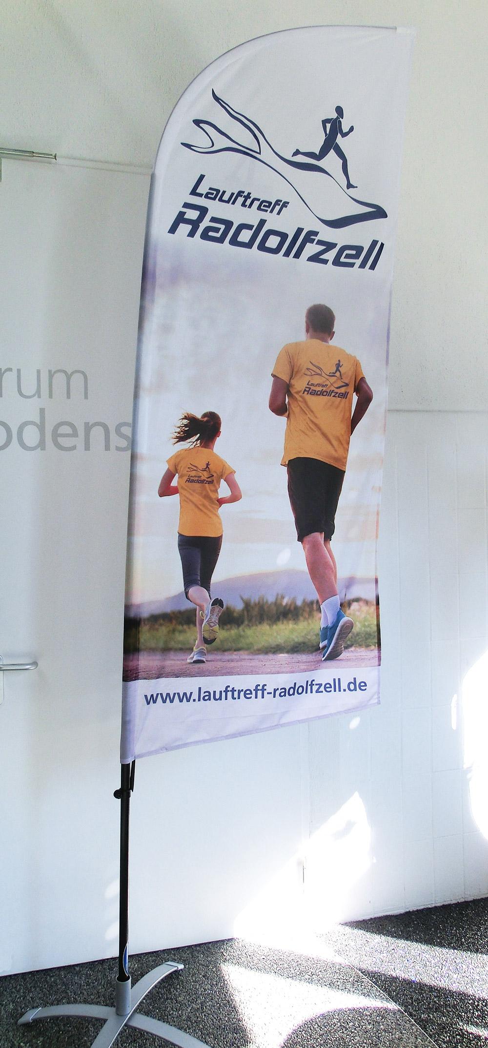 Beachflag Lauftreff Radolfzell