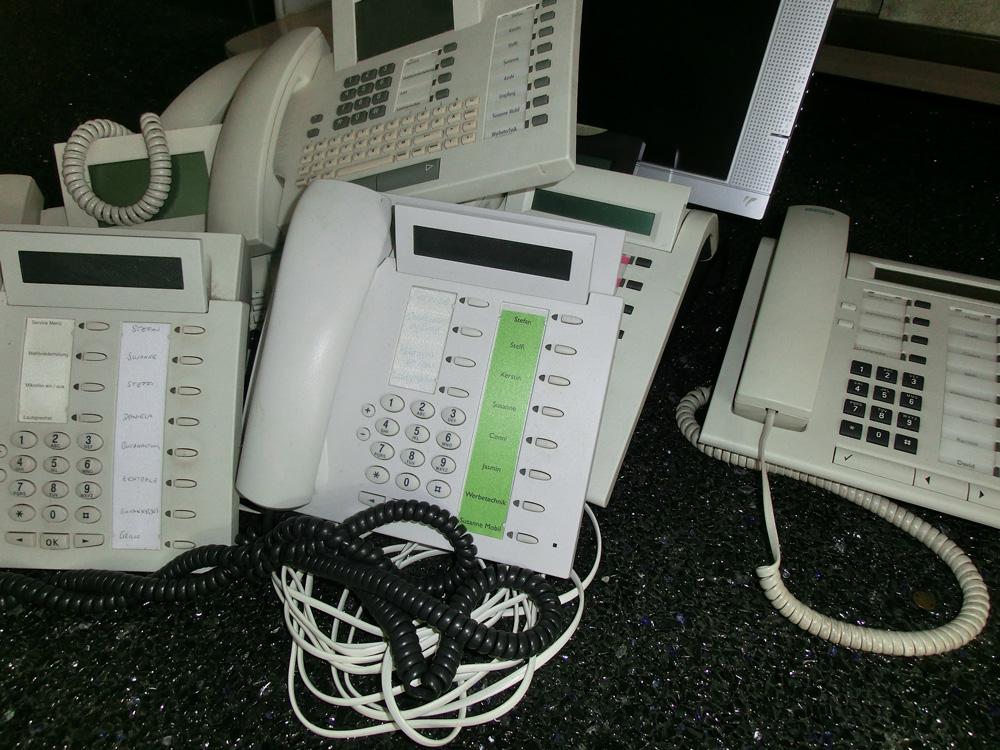 Telefone kaputt