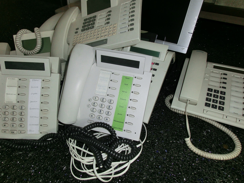Telefon-Störung behoben!
