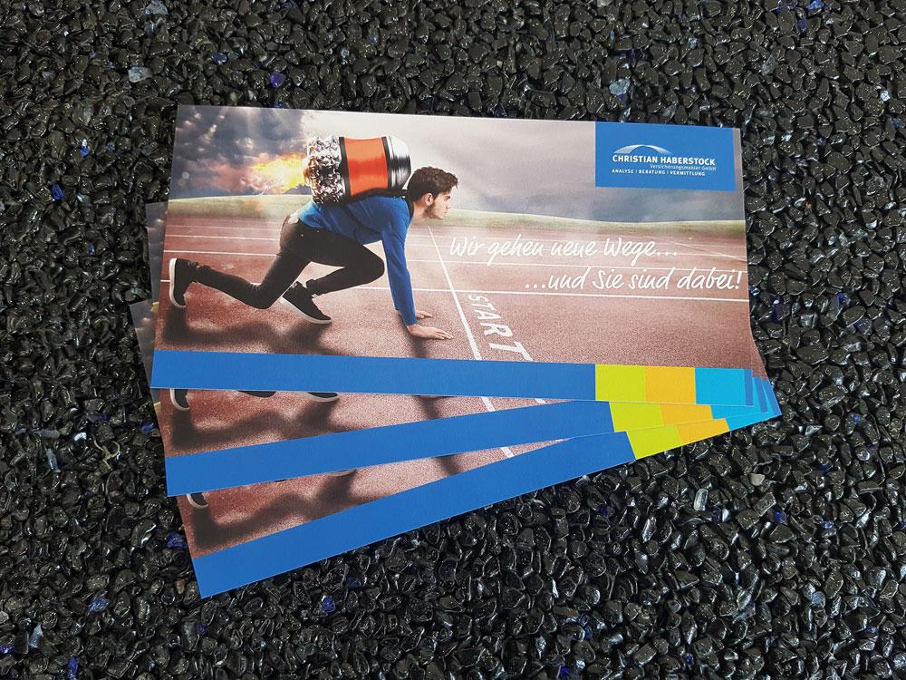 Flyer auf Multilayer Papier