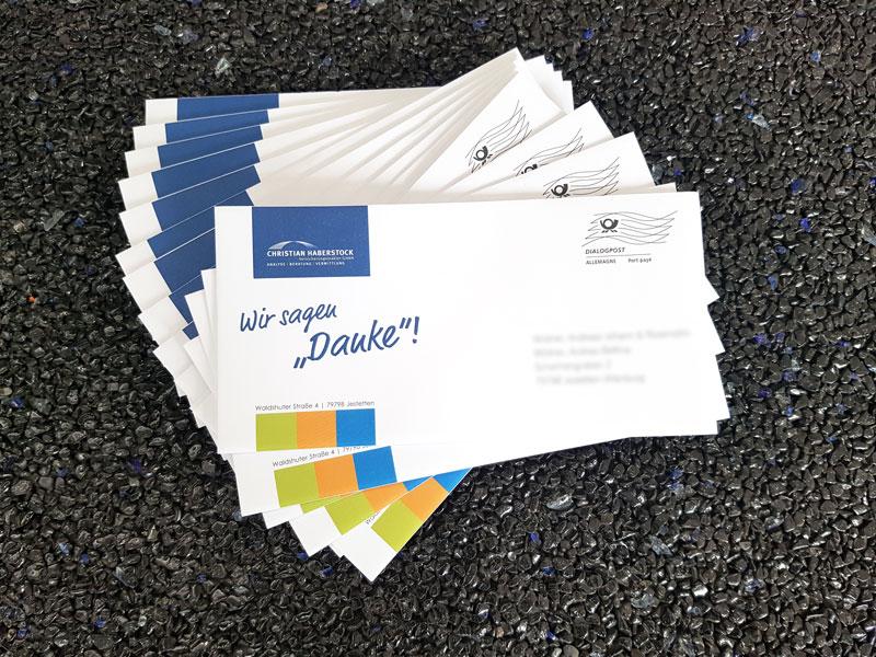 Mailing / Aussendung für Versicherungsmakler