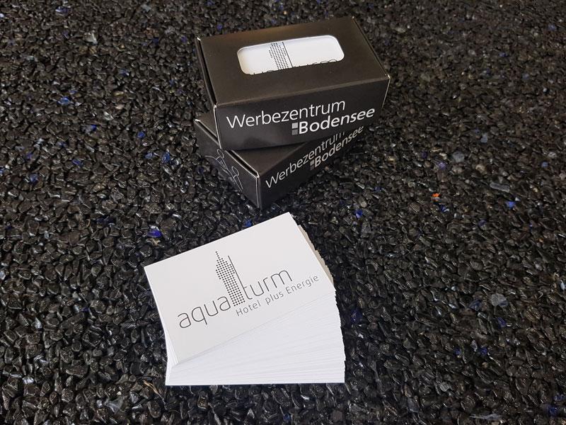 Visitenkarten Aquaturm