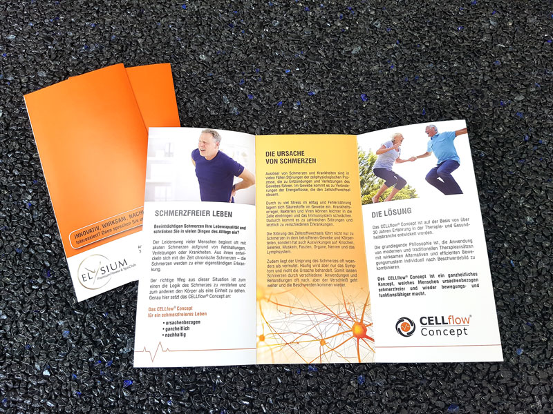Folder / Flyer Cellflow