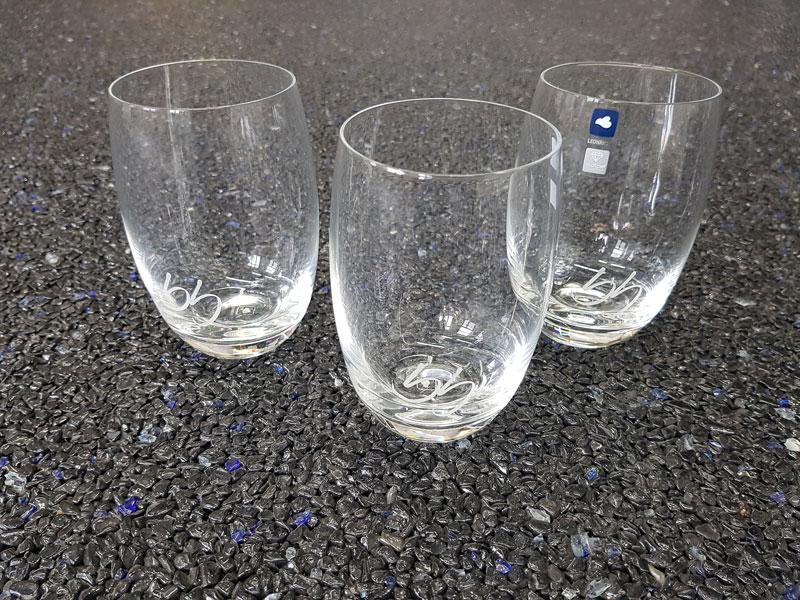 Lasergravur / Gravur Glas