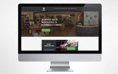 Webseite: Weinhaus Baum