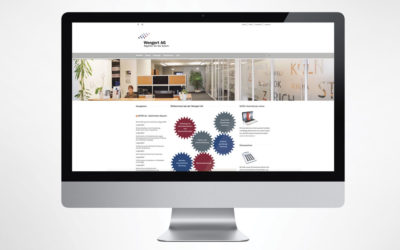 Webseite: Wengert AG