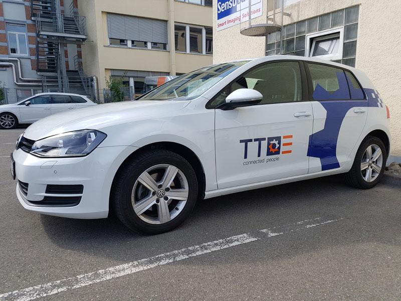 Fahrzeugbeschriftung Golf TT