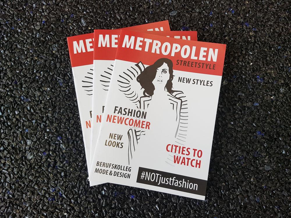 Broschüre / Magazin Modenacht der Modeschule Radolfzell