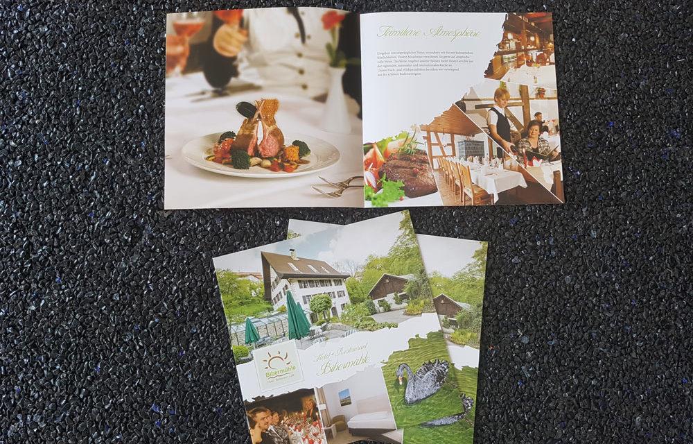 Image-Broschüre der Bibermühle
