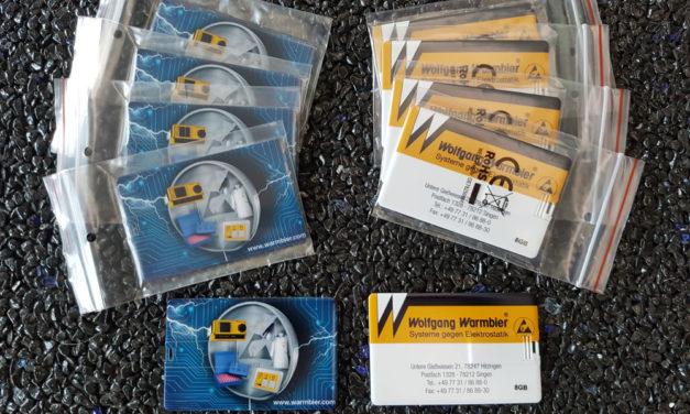 USB-Sticks für Warmbier