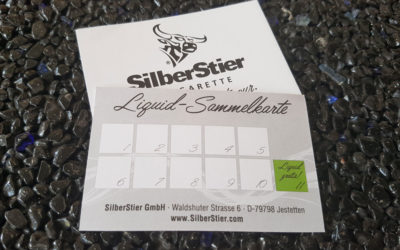 Liquid-Sammelkarten für Silberstier