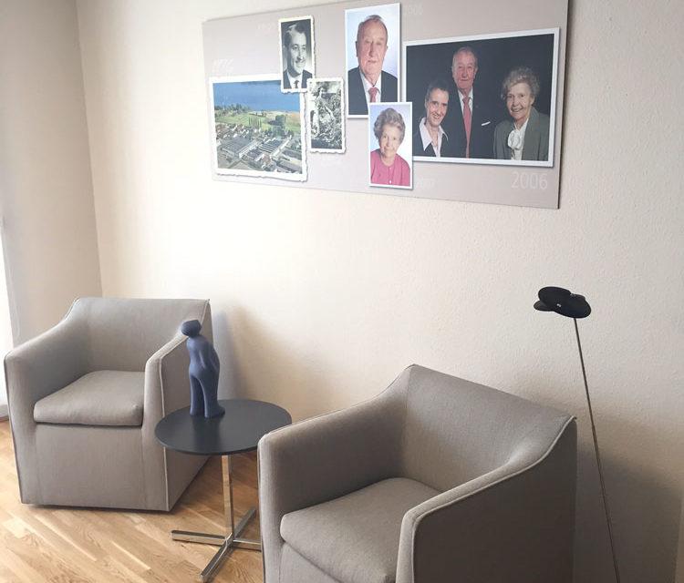 Wandbild für Stiftung