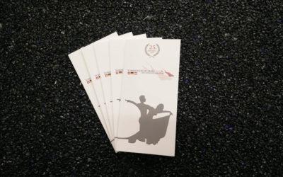 DIN Lang Flyer für den Sommernachtsball der Bodensee-Offiziere