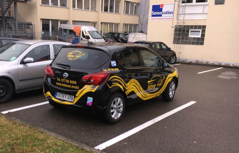 Autobeschriftung für unseren Kunden Tetzner
