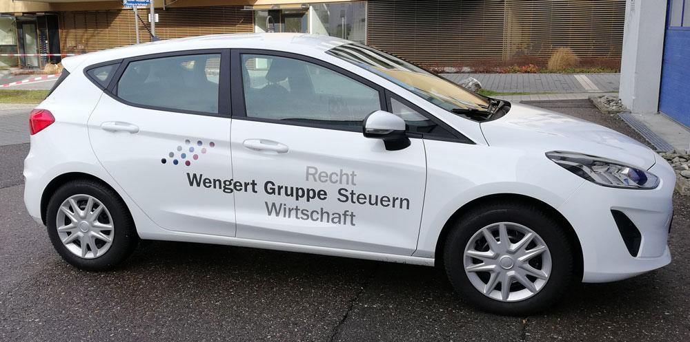 Fahrzeugbeschriftung, die perfekte Außenwerbung!