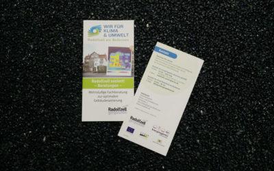 Flyer zum Thema Gebäudesanierung