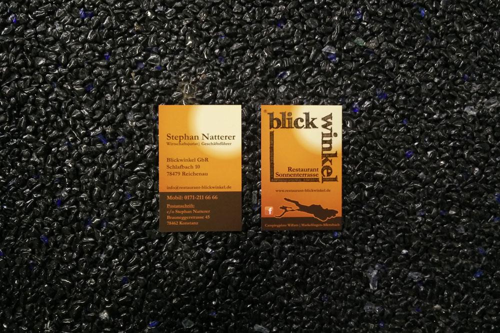 blickwinkel-Visitenkarten
