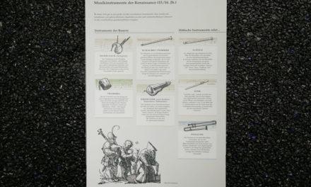 Dibondschilder für ein Museum