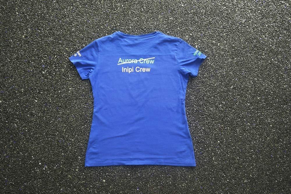 T-shirt, bedruckt, bestickt