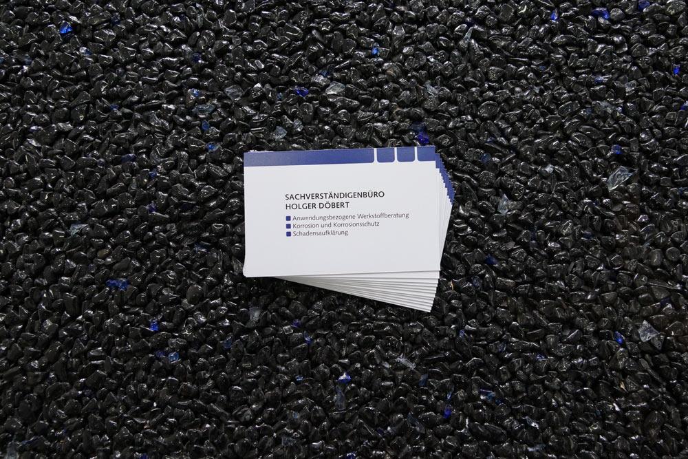 Visitenkarte, Druckprodukt