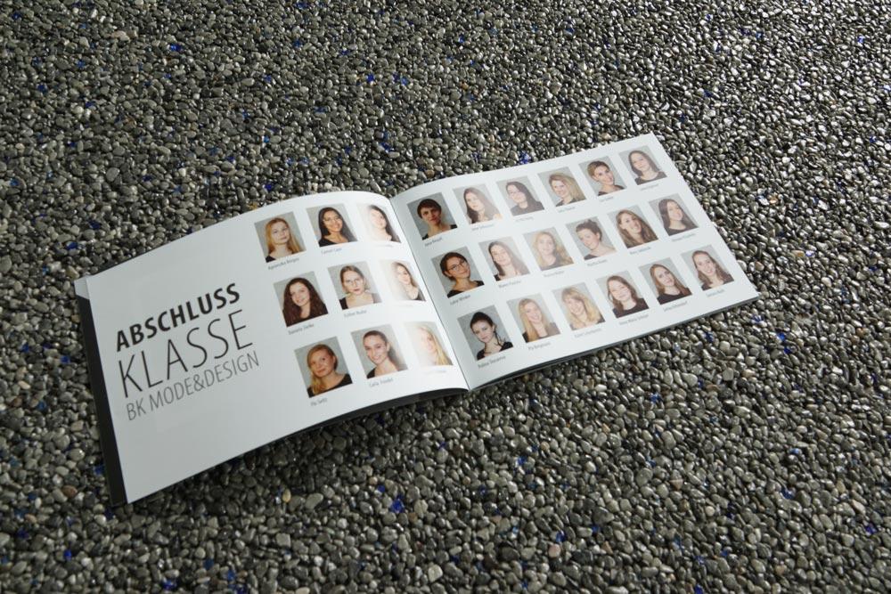Modeschule, Flyer, Plakate, Broschüre