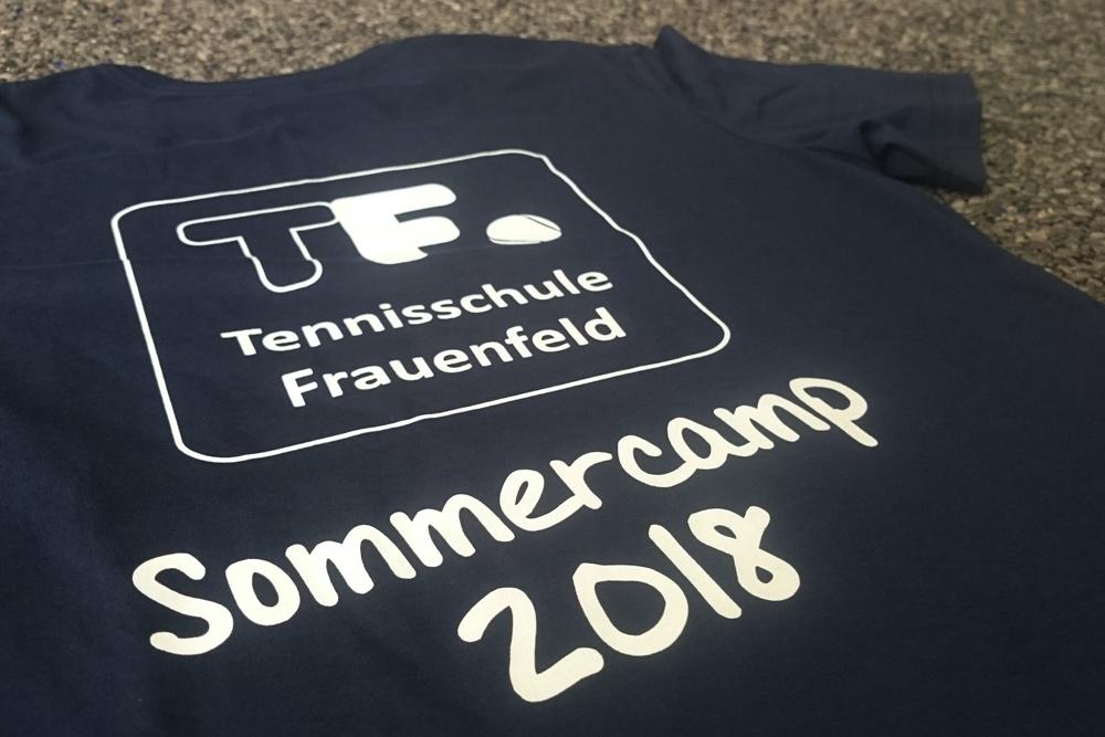 T-shirt, Siebdruck, Tennisschule Fraunefeld