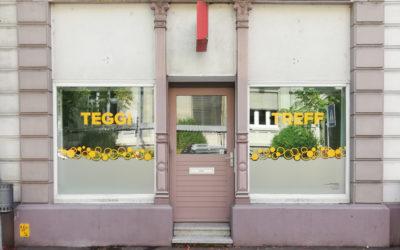 Teggi-Treff Schaufenster- und Schildbeschriftung