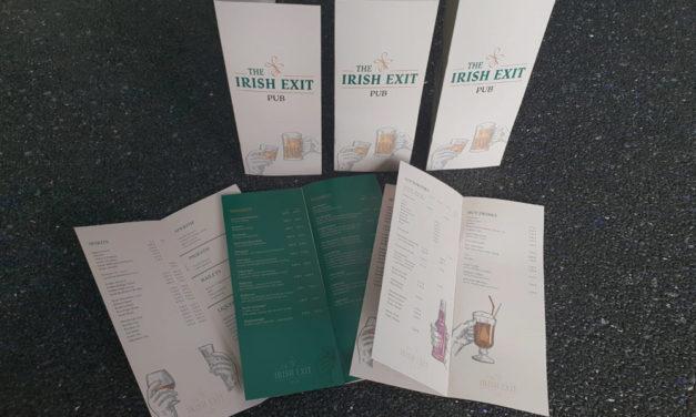 The Irish Exit Pub erscheint in neuem Glanz