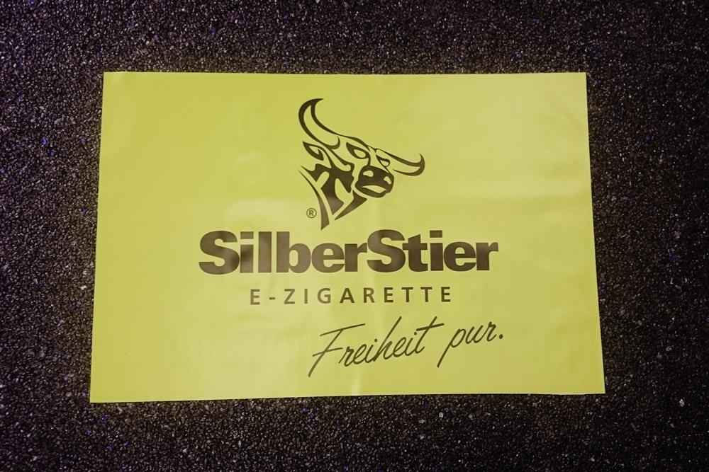 Banner aus PVC-Material