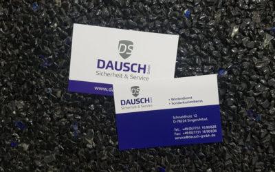 Visitenkarten für die Firma Dausch