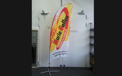 Beachflags für die Fahrschule Gallus aus Radolfzell