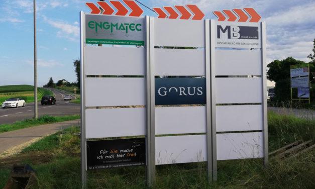 Wegeleitsystem in Radolfzell
